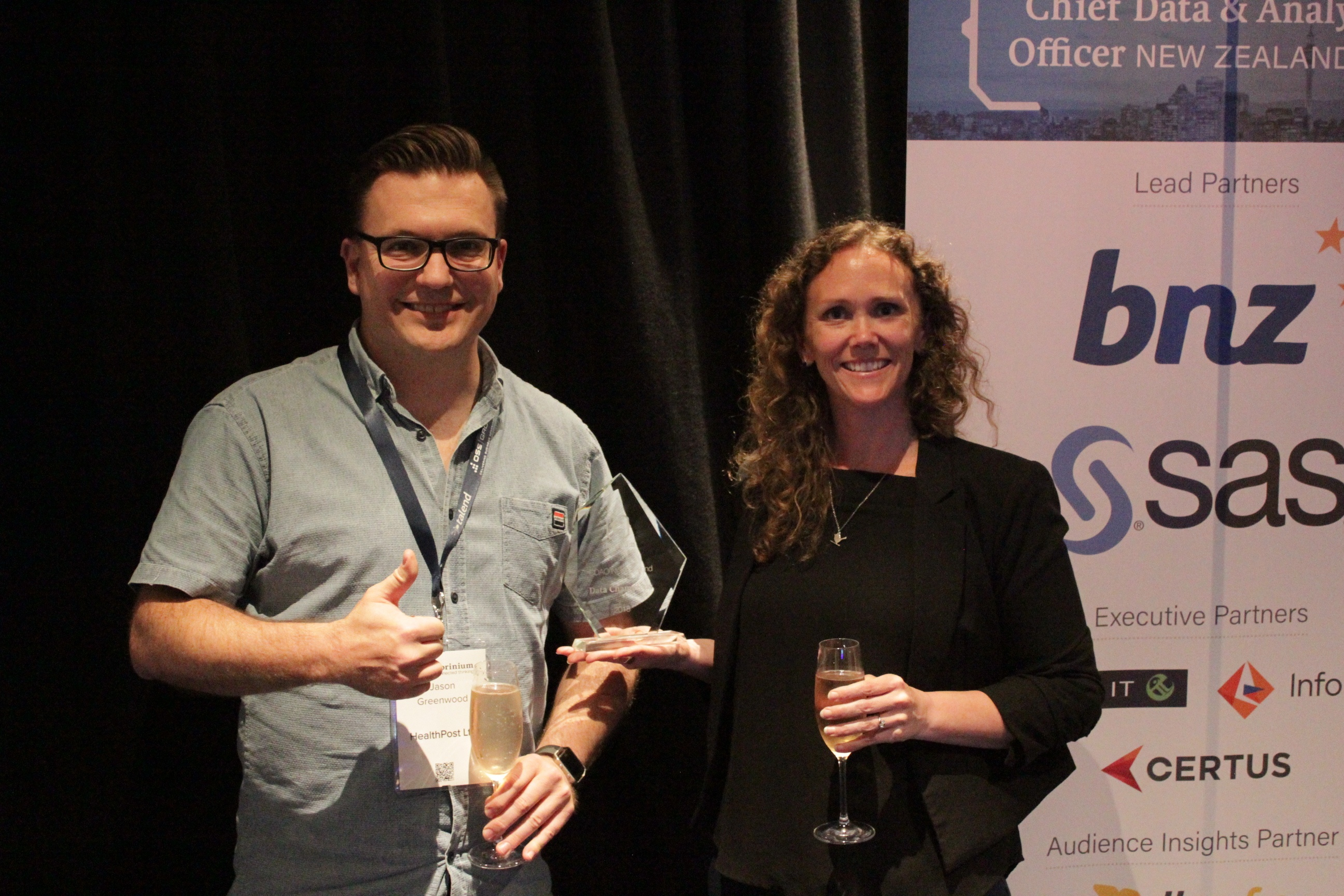 CDAO New Zealand Data Champion Winner HealthPost 1